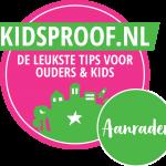 kidsproof sticker