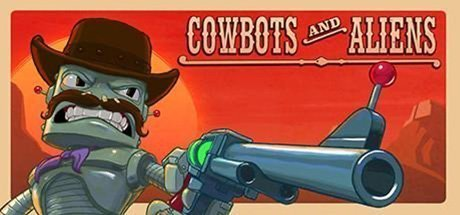 Cowbots and Aliens virtual shooter multiplayer game