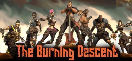 The Burning Descent virtual multiplayer shooter game