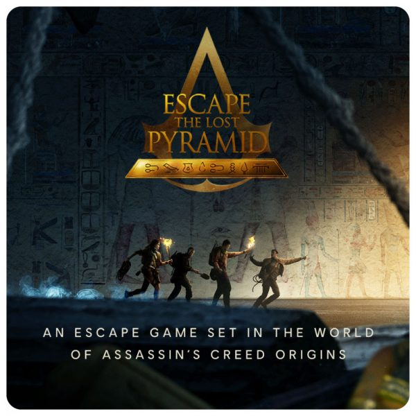 vr escape room escape the lost pyramid logo